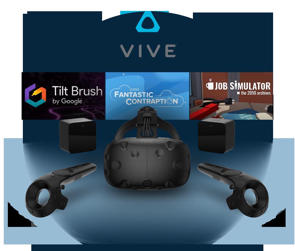 HTC Vive presentazione steam