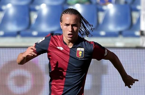 Il centrocampista del Genoa, Diego Laxait
