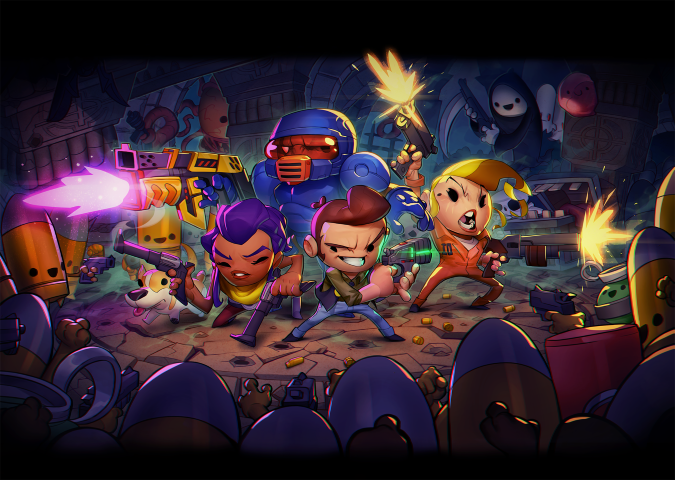 Enter the Gungeon - Key Art_Extended