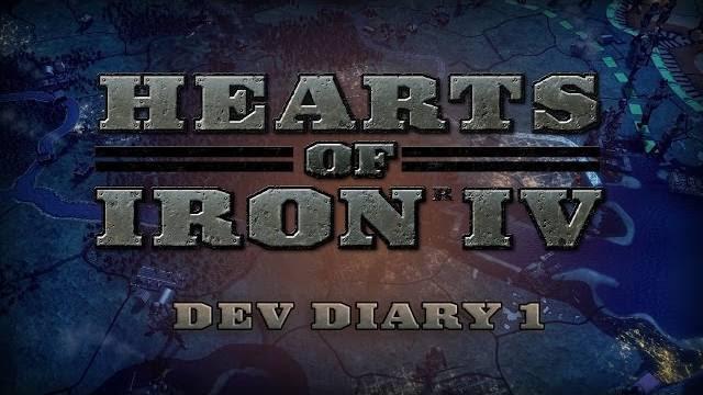 Hearts of Iron IV Dev Diary 1