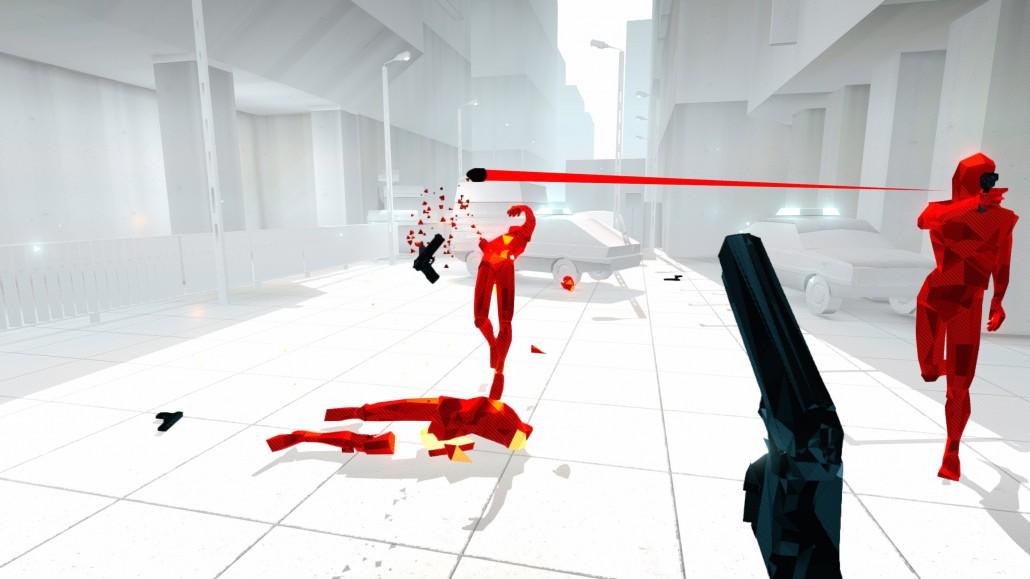 Superhot in game