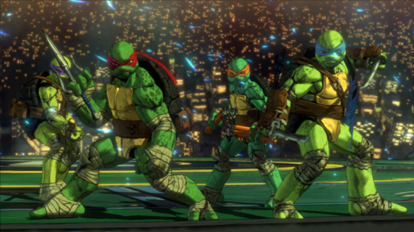 Teenage Mutant Ninja Turtles Mutanti a Manhattan