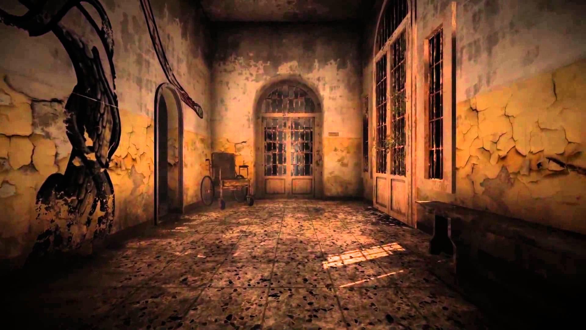 Uno dei corridoi del manicomio di Volterra, adesso fatiscente, teatro dei racconti di The Town of Light