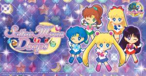 Sailor Moon Drops, è  disponibile per i dispositivi iOS e Android