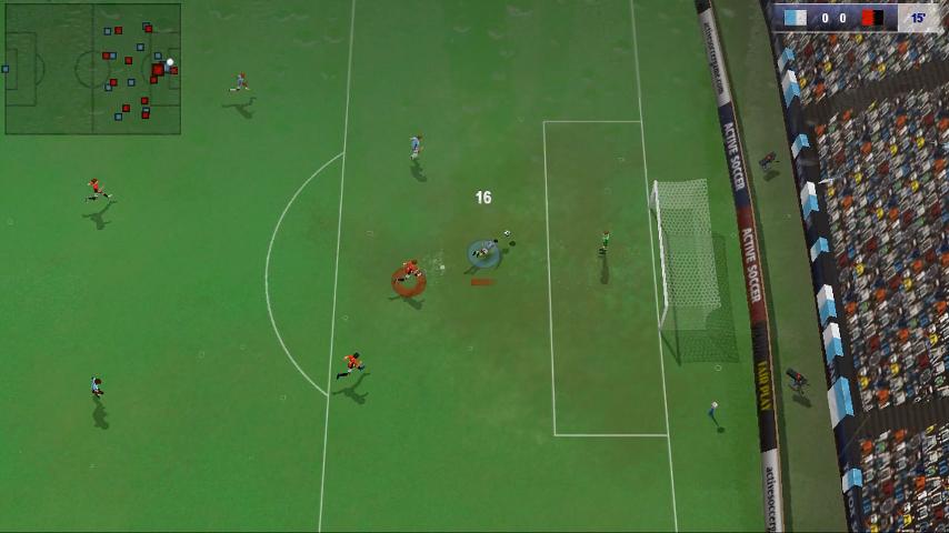 La telecamera laterale (un po' spostata verso l'alto) offre una buona visuale con interessanti prospettive di gameplay