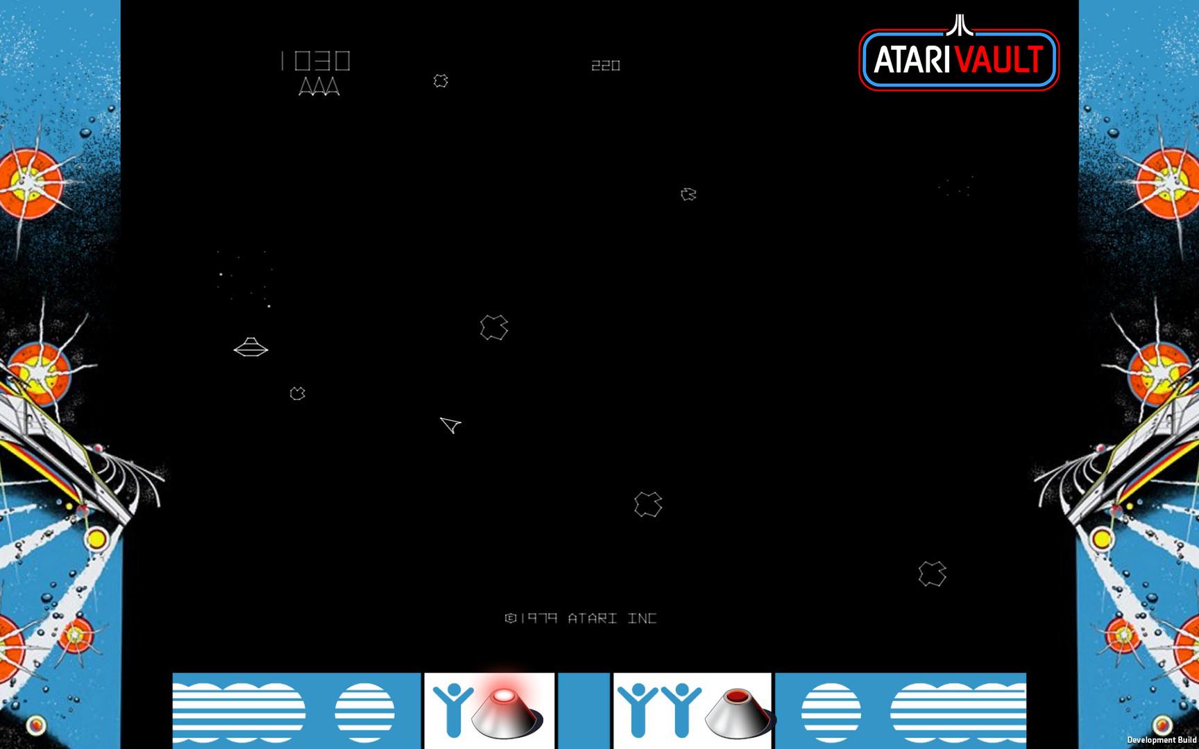 Asteroids Atari Vault