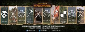 Total War: Warhammer, annunciato il piano dei dlc gratuiti