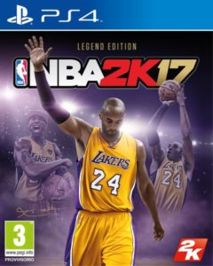 2K annuncia NBA 2K17 e l'eredità di Kobe Bryant