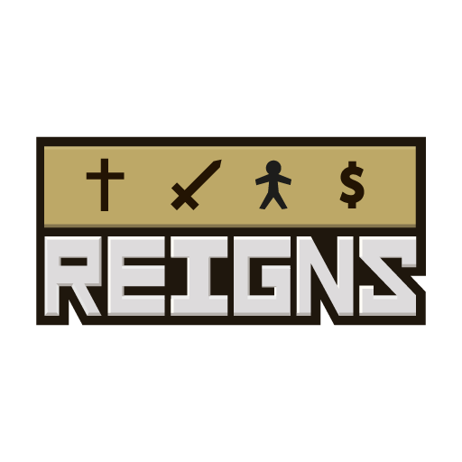 Reigns - Logo_Gold