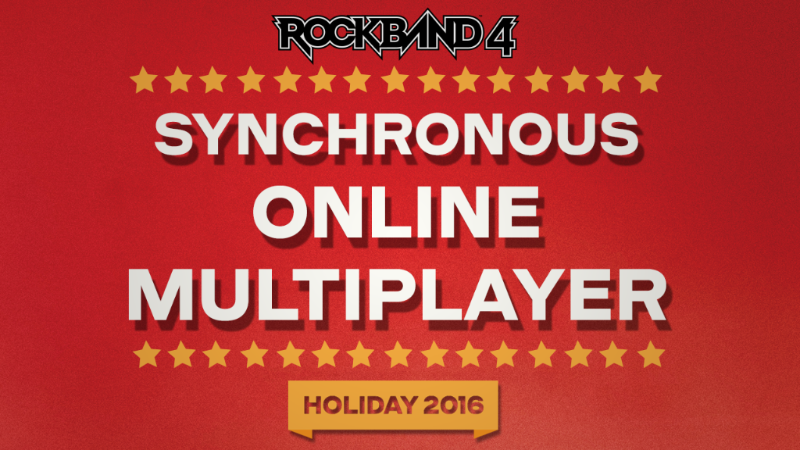 Rock Band 4 multiplayer