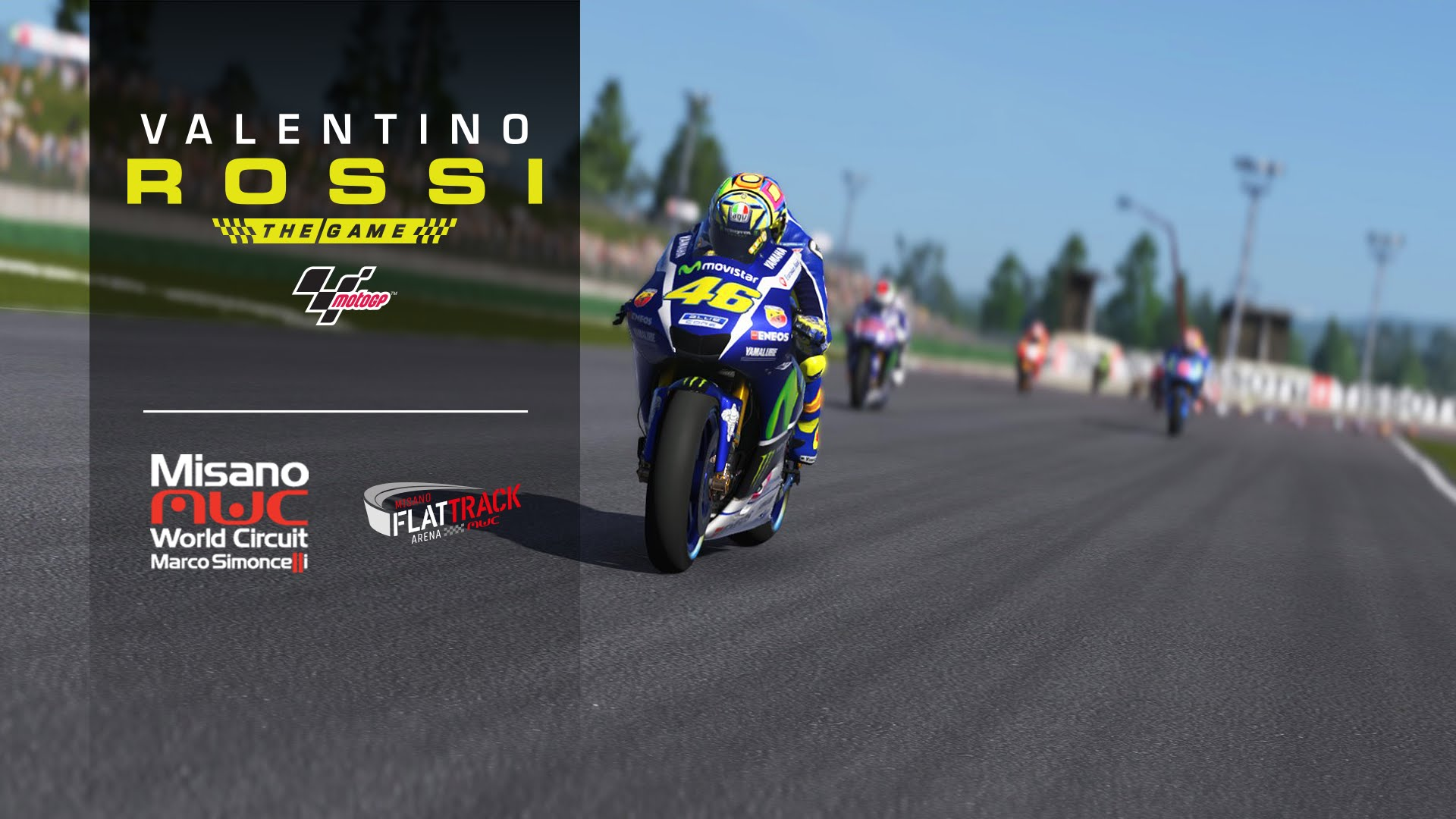 Valentino Rossi The Game trailer su Misano