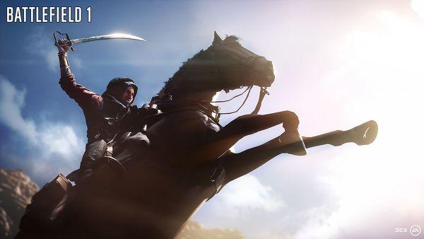 Battlefield 1 donna a cavallo