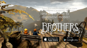 Brothes: A Tale of Two Sons, trailer per le versioni mobile