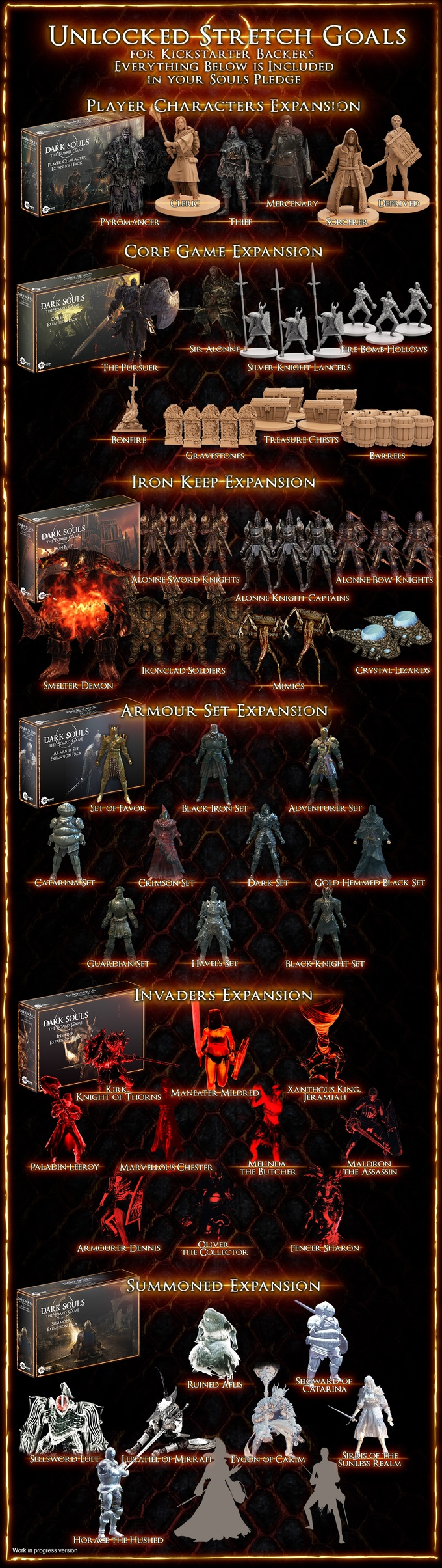 Dark Souls Board Game complete