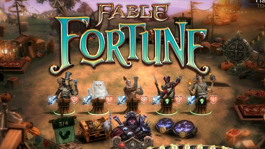 Fable Fortune header