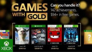 Games with Gold, Microsoft ha annunciato i giochi di giugno 2016