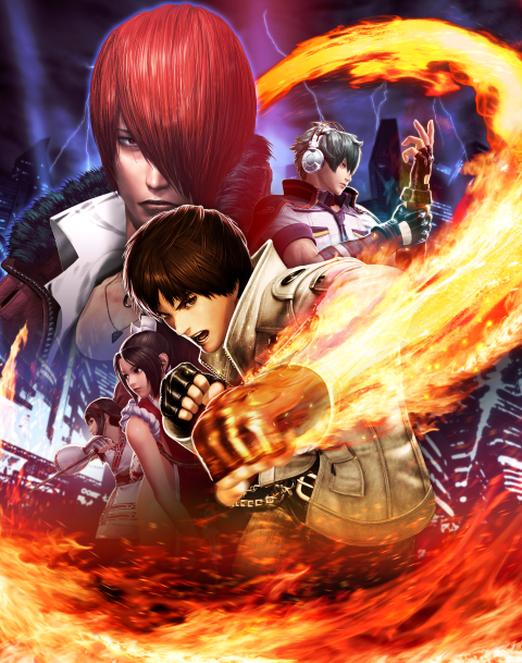 KOF XIV Key Art