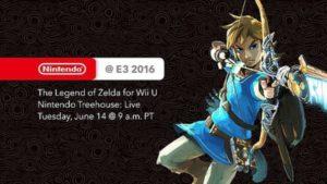 Nintendo conferma i piani per l'E3 2016: spazio solo a The Legend of Zelda