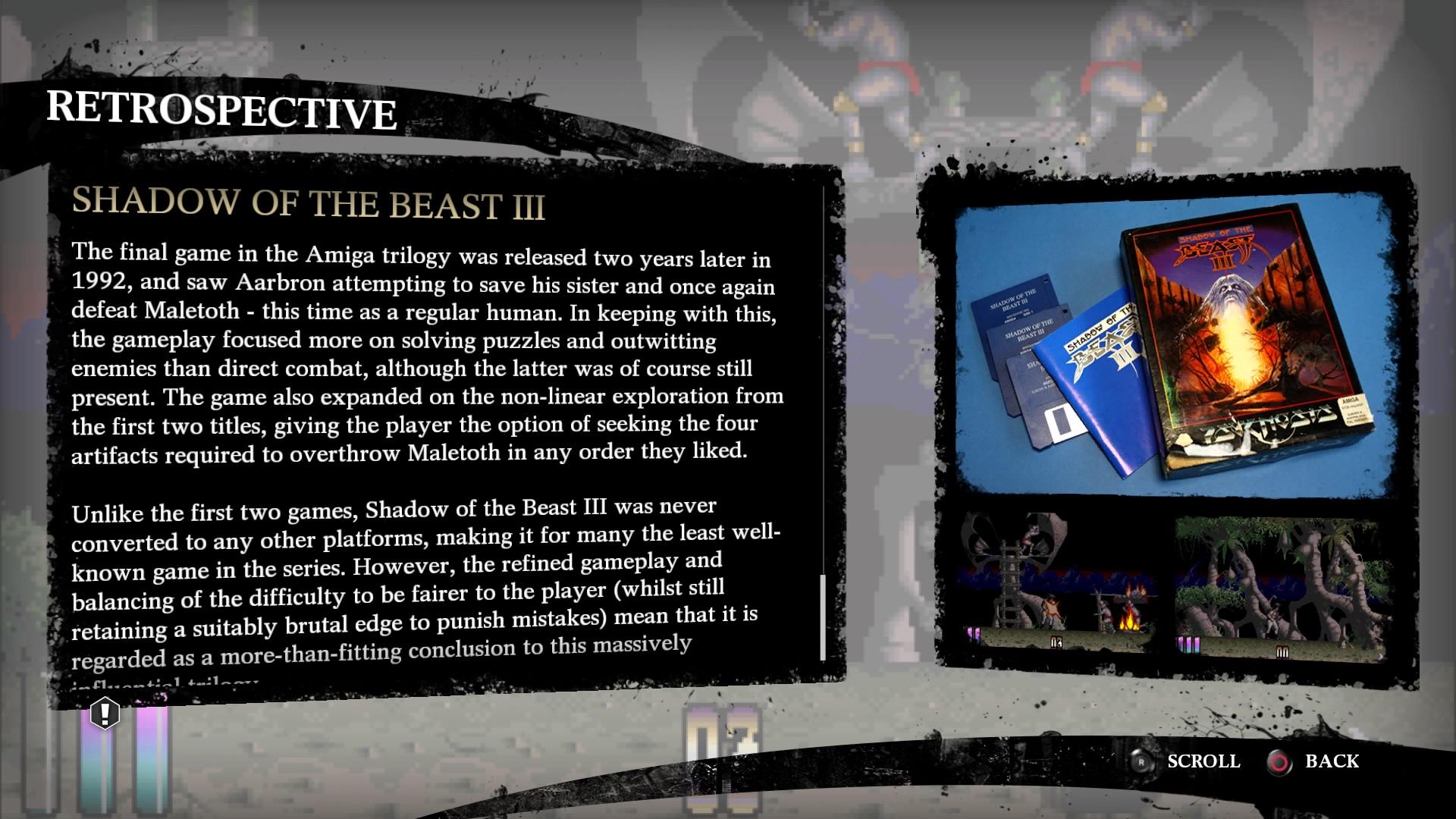 Shadow of the Beast retrospettiva
