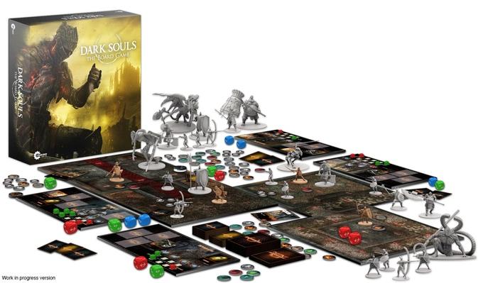 Sark Souls board game