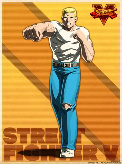 Street Fighter V Scott