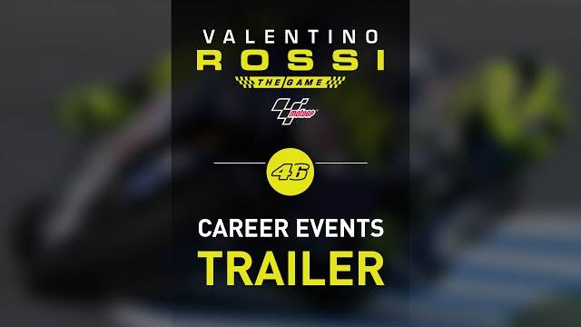Valentino rossi the game career events trailer
