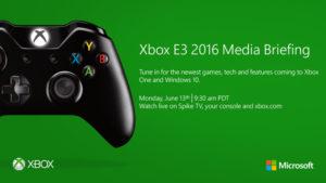 E3 2016, ecco gli orari degli eventi Microsoft
