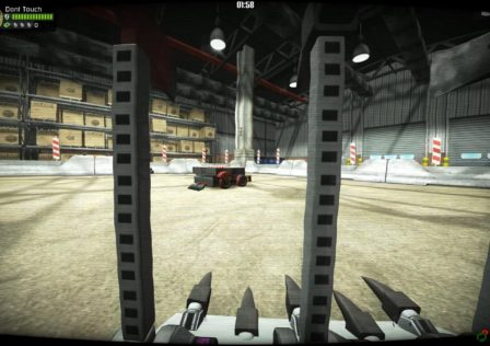 Robot Arena III in game