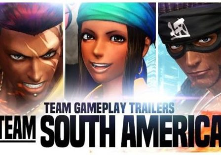 The King of Fighters XIV team south america