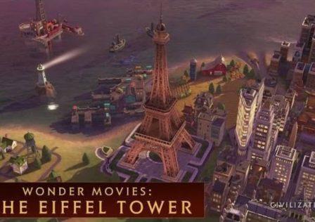 Civilization VI Torre Eiffel