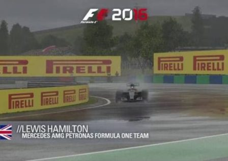 F1 2016 hamilton hungaroring hot lap