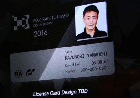 GT Sport card license