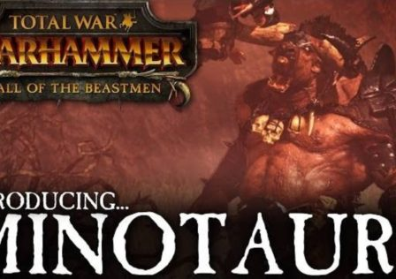 Minotauri total war warhammer