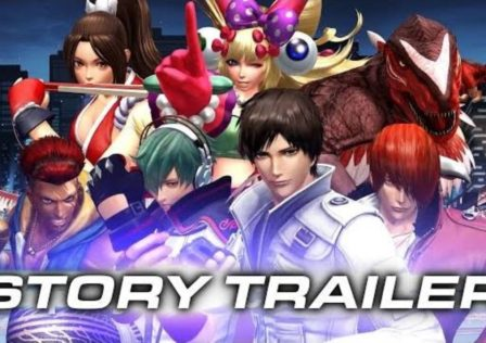 The King of Fighters XIV story mode