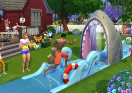 The Sims 4  Divertimento in Cortile Stuff