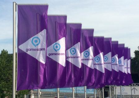 Gamescom 2016 flags