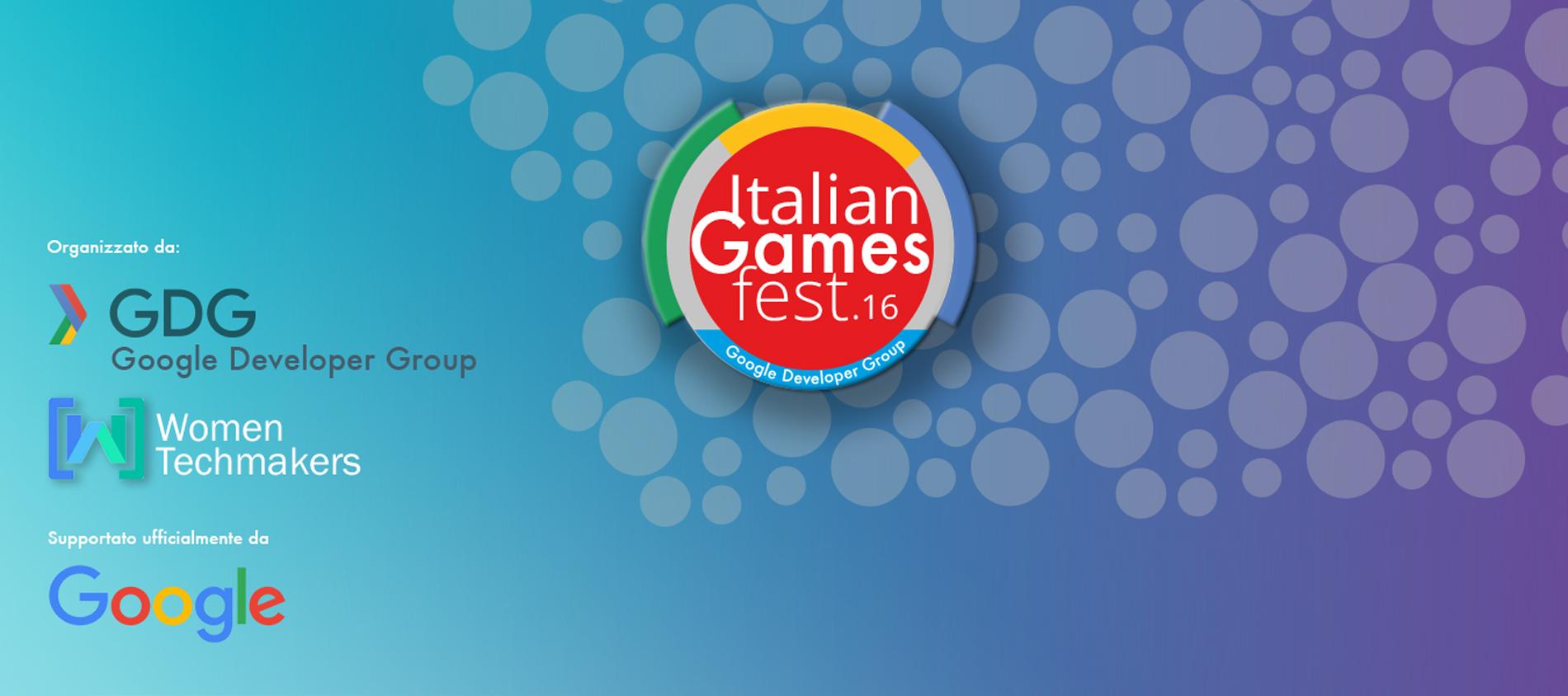 Italian Games Fest 2016 del GDG Nebrod