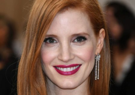 "NEW YORK, NY - MAY 02:  Jessica Chastain attends the ""Manus x Machina: Fashion In An Age Of Technology"" Costume Institute Gala at Metropolitan Museum of Art on May 2, 2016 in New York City.  (Photo by Larry Busacca/Getty Images)"