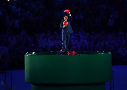 Shinzo Abe Super Mario Rio 2016 B