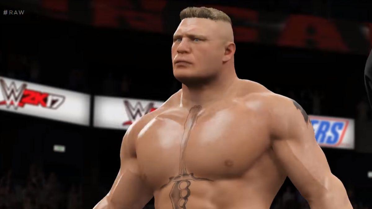 WWE 2K17, video sulla Brock Lesnar Entrance e prime ...