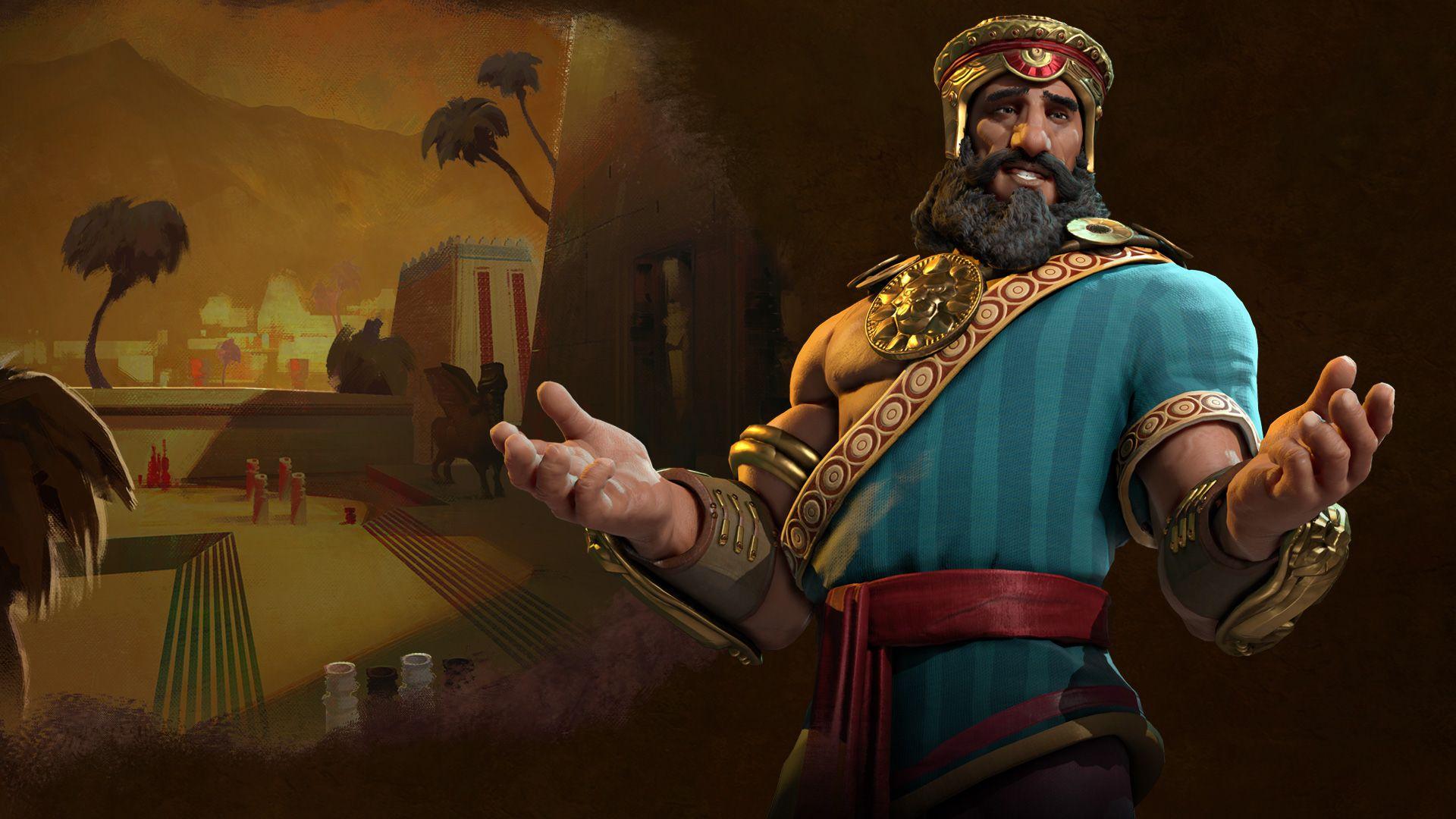 civilizationvi_sumeria_gilgamesh_hero