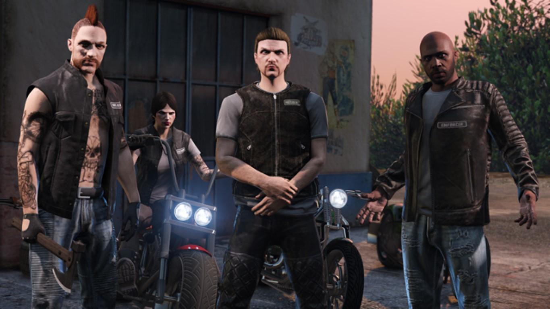 Nuove immagini per il futuro DLC di GTA V Online: Bikers