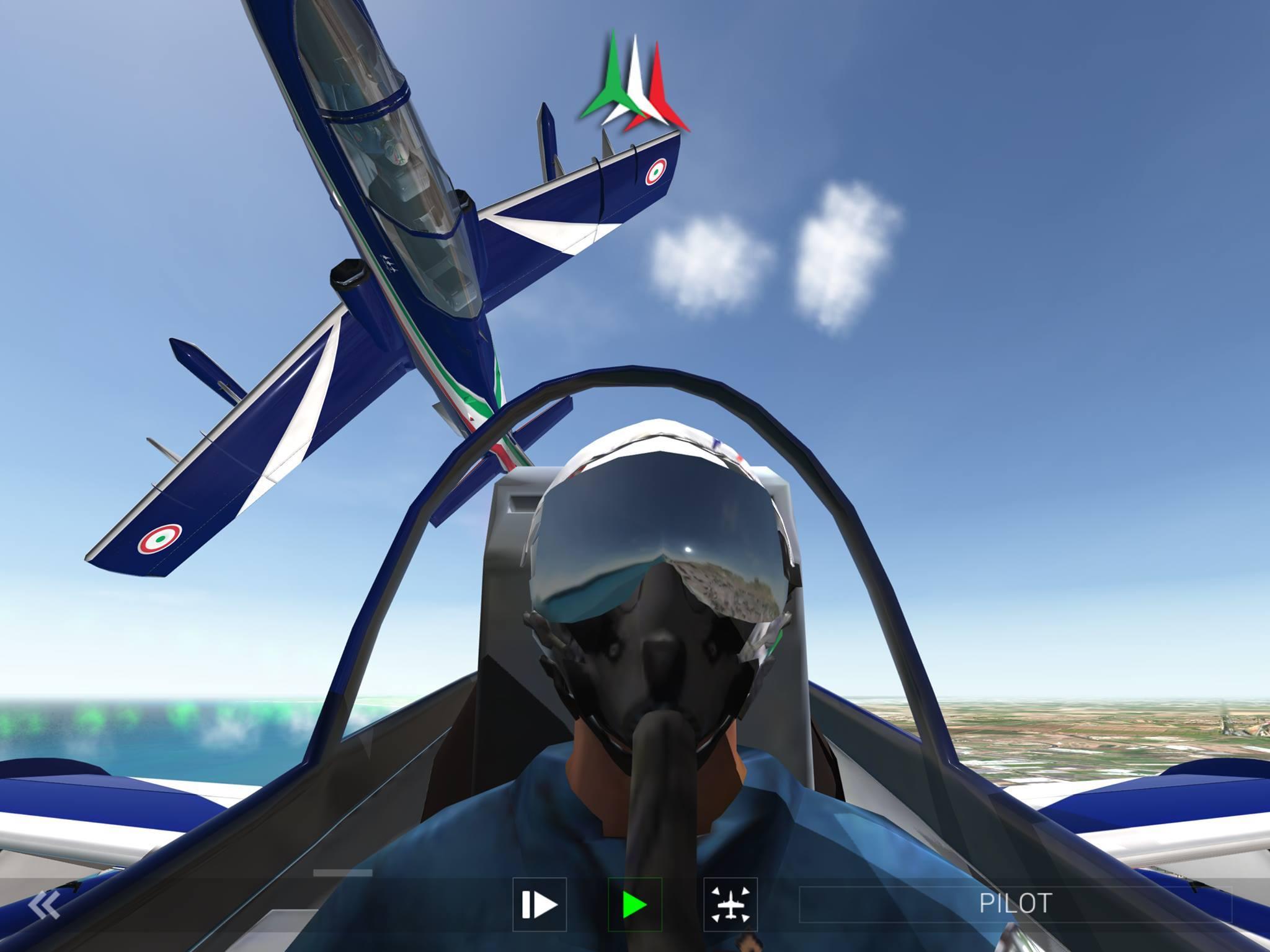 RORTOS, studio di sviluppo italiano, lancia Frecce Tricolori Flight Simulator