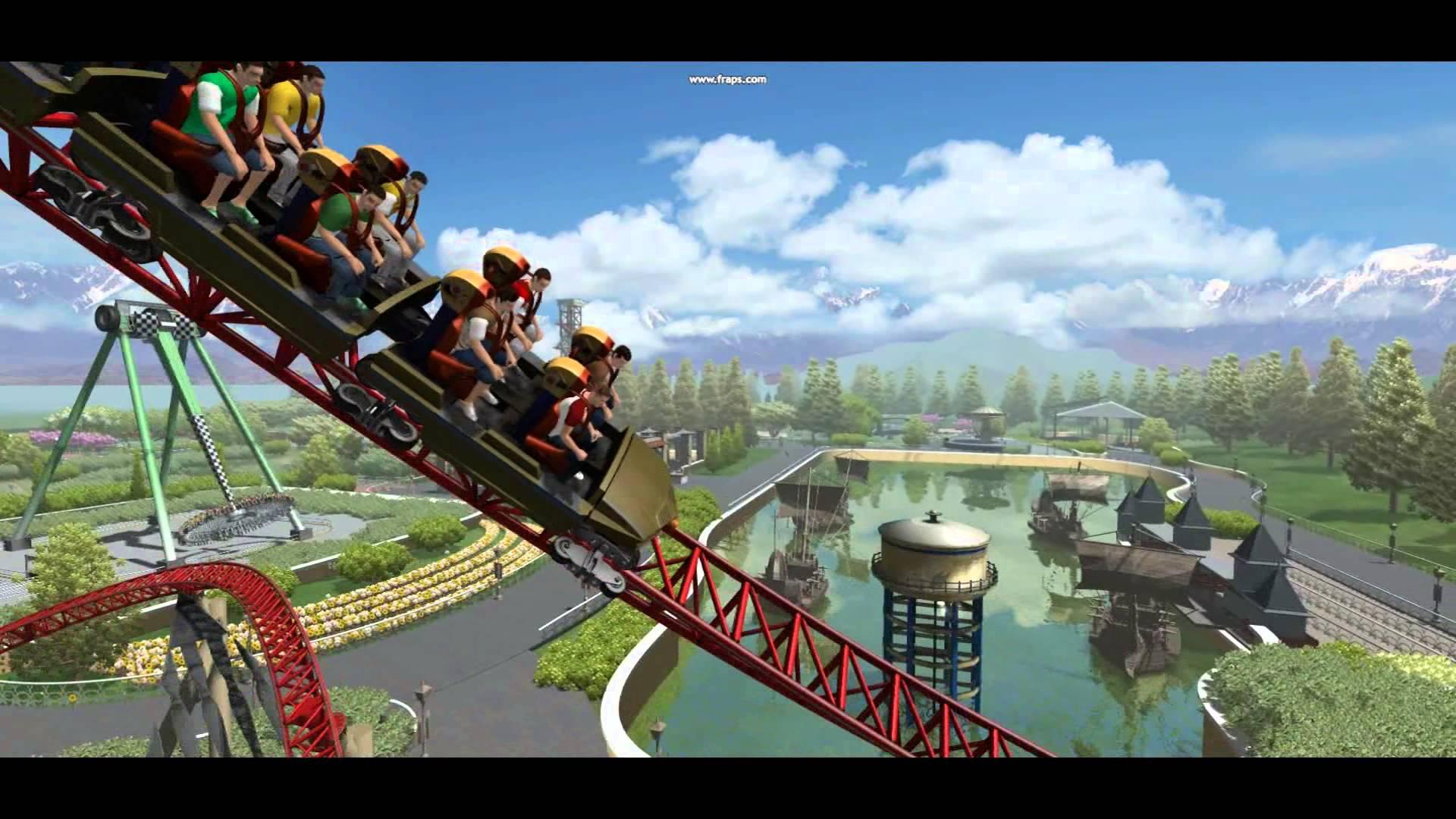 Theme park gioco