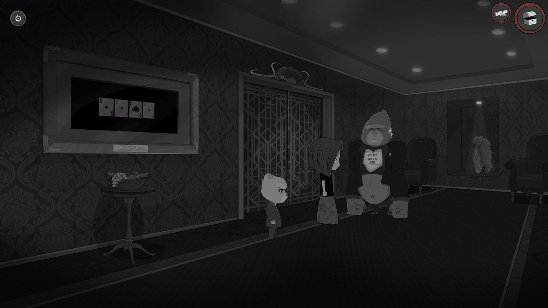Bear With Me - Westpaw Casino - Elevator Lobby