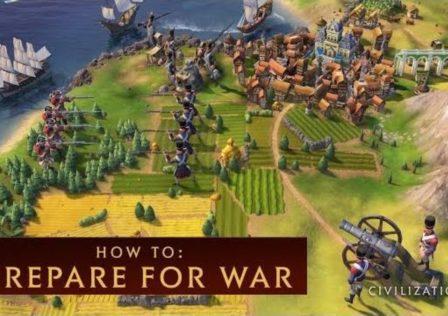 Civilization VI how prepare for war