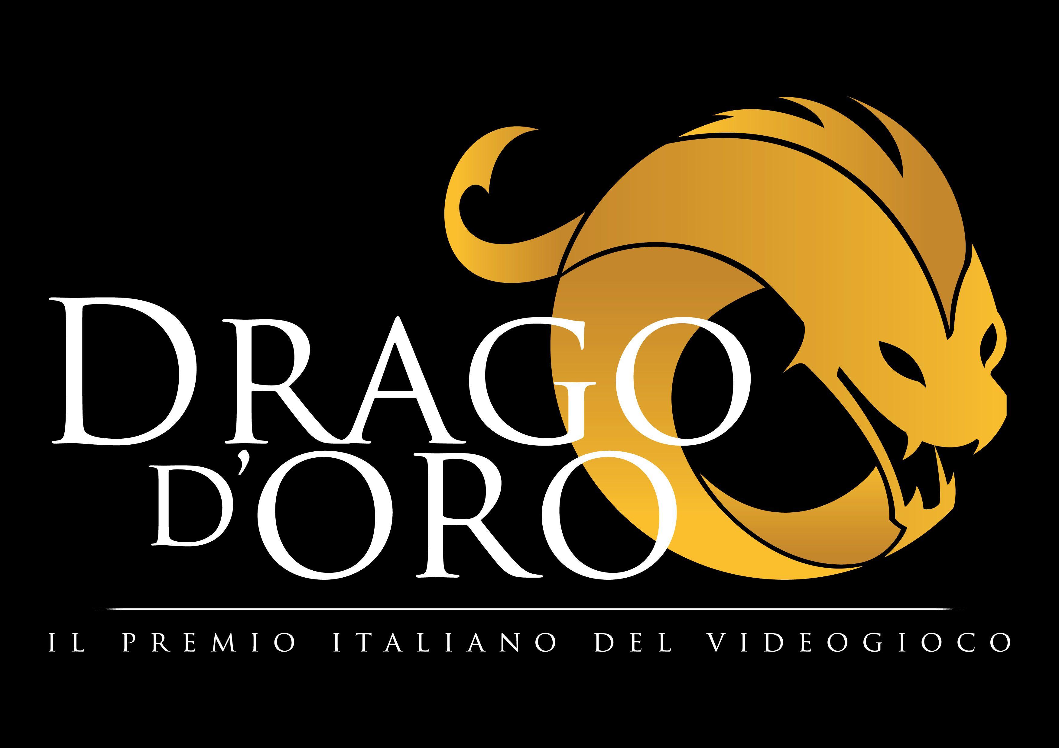 Drago d'Oro - Logo Nero