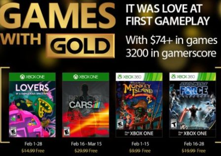 Games with gold febbraio 2017