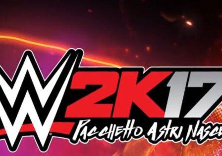 WWE 2K17 astri nascenti banner