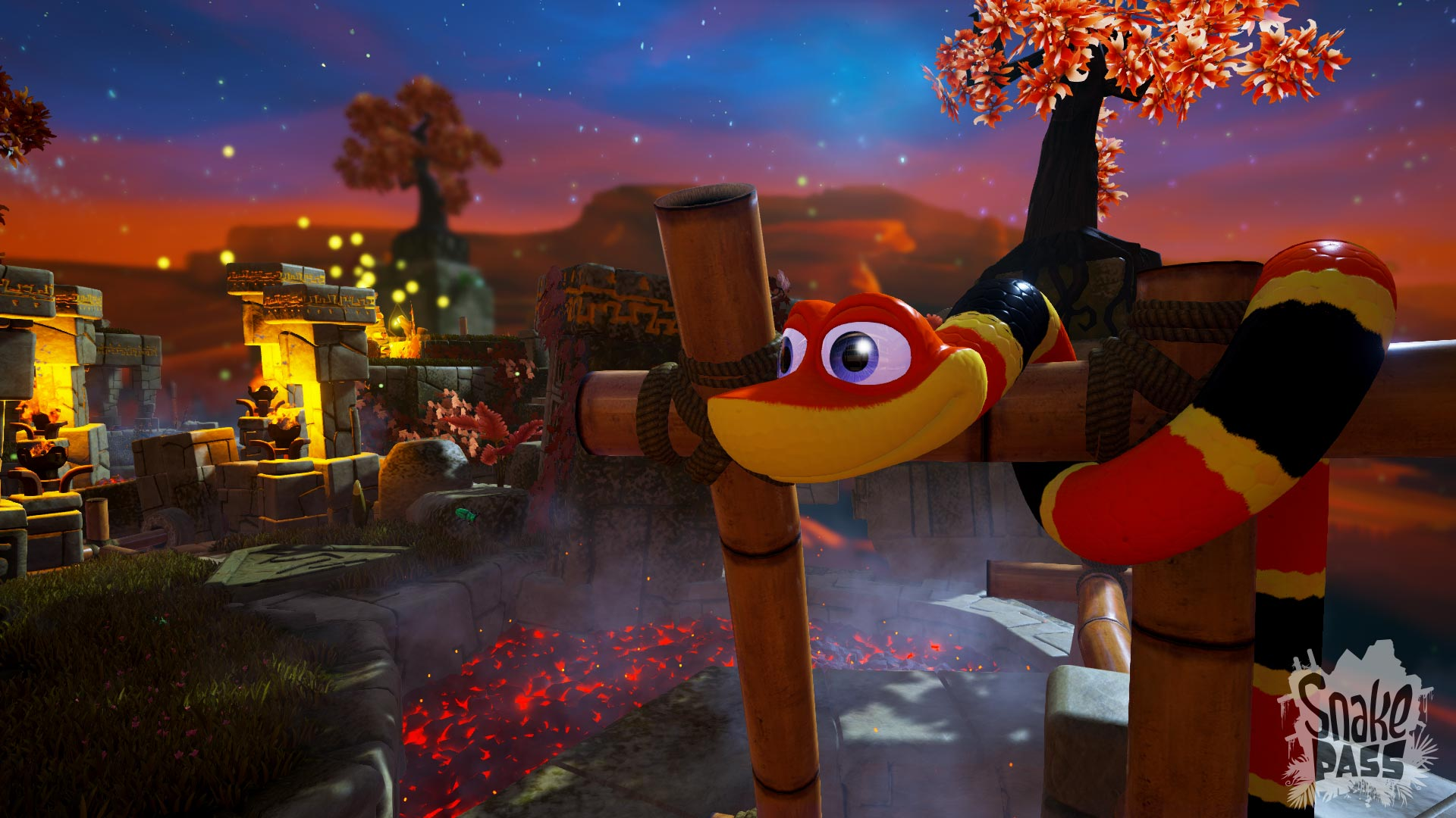 Snake Pass annunciato per PC, PlayStation 4, Xbox One e Switch